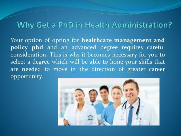 Dissertation proposal health care management