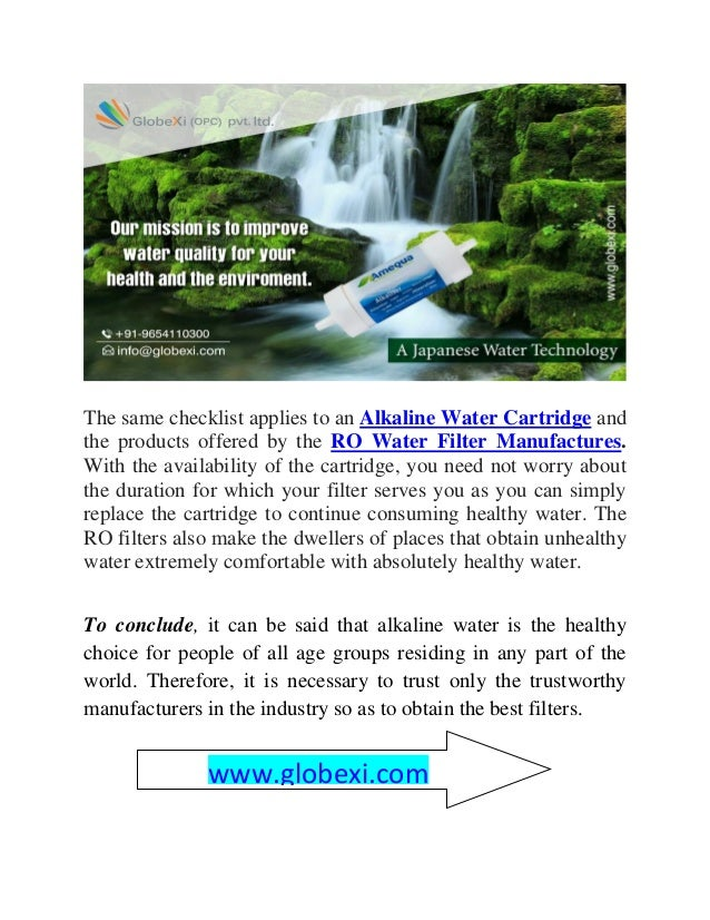 Why give alkaline filters a sacred place in your kitchen Slide 3