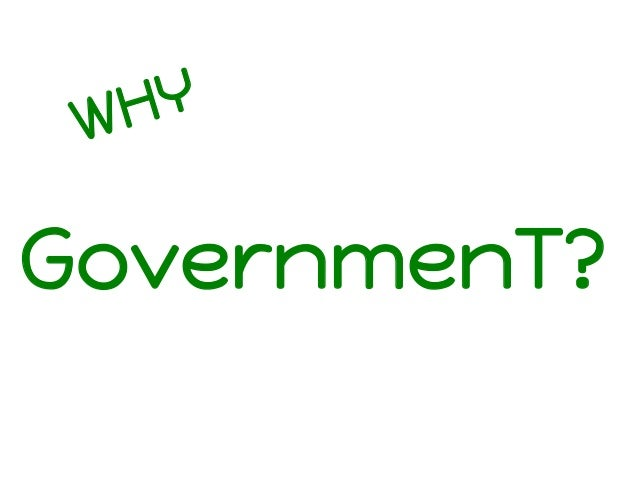 Y H W  GovernmenT?