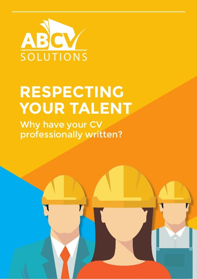 Why have your CV professionally written?