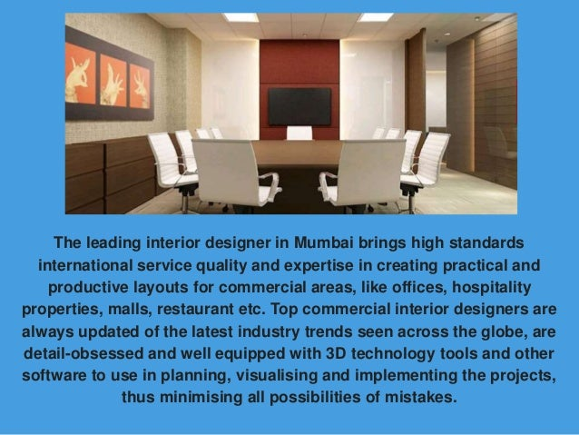 Why Hire Commercial Interior Designers