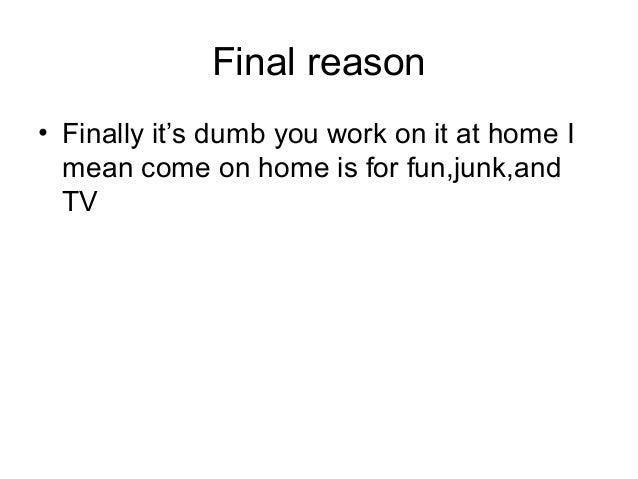 why homework