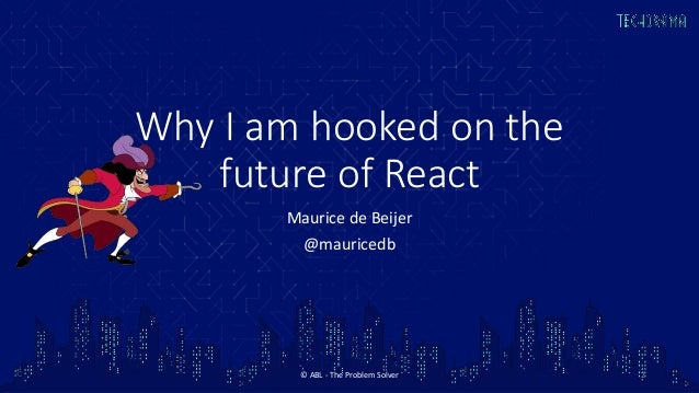 Why I am hooked on the future of React Slide 2