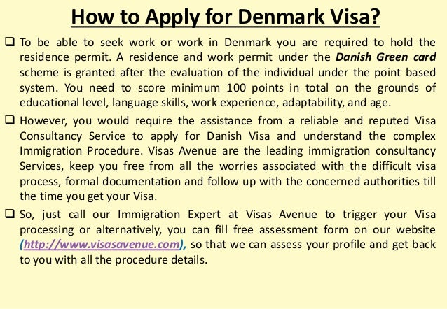 what courier for denmark visa applications