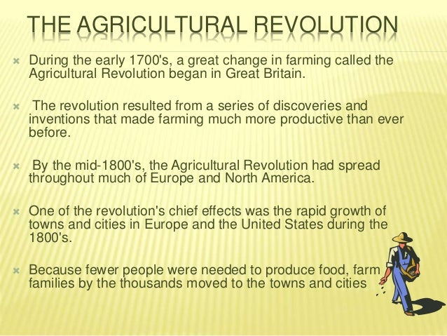 the british agrarian revolution