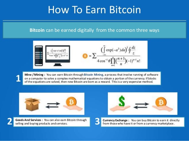 Why invest in bitcoin how to earn bitcoin ccuart Choice Image