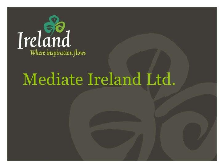 Mediate Ireland Ltd.