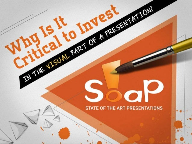 Why is it Critical to Invest in the Visual Part of a Presentation?