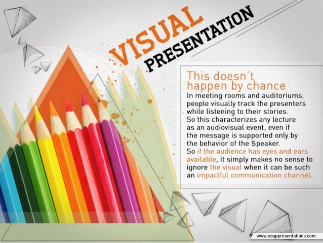 Why is it Critical to Invest in the Visual Part of a Presentation? Slide 3