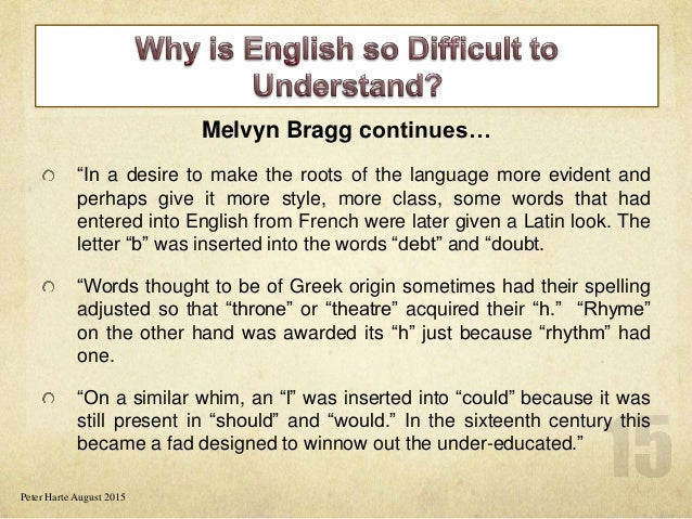 why is english so widespread The un, the nearest thing we have, or have ever had, to a global community, currently uses five official languages: english, french, spanish, russian and chinese, and an estimated 85% of international organizations have english as at least one of their official languages (french comes next with less than 50%.