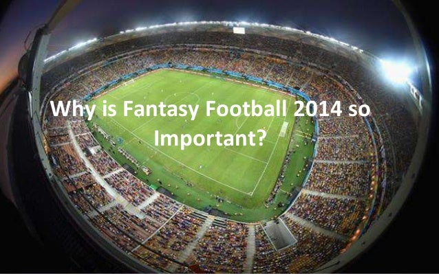 Why is Fantasy Football 2014 so  Important?