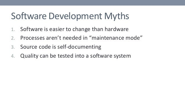 Why Is Managing Software So Hard?