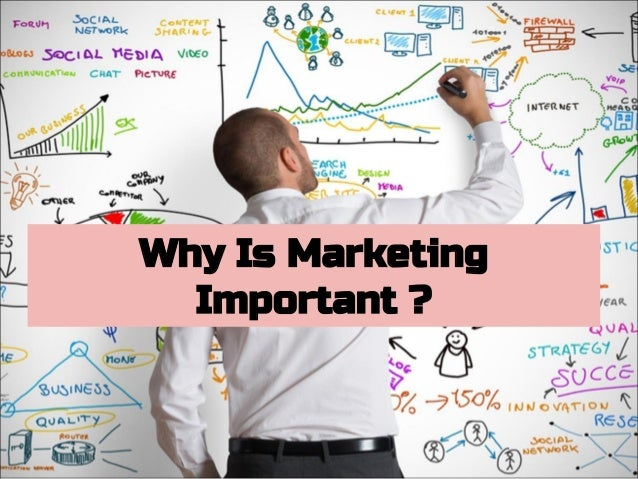 Why Is Marketing Important ?