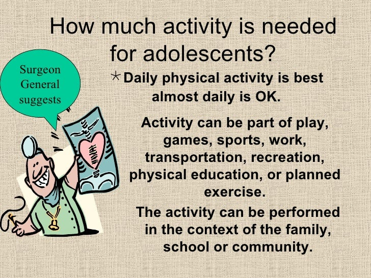 the importance of physical activities at school This is because school life is full of stress and anxiety at every stage several  researches have proved the importance of physical activities of.