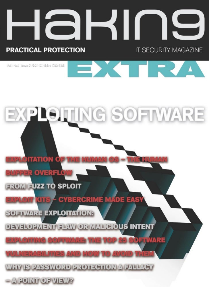 EXPLOITING SOFTWARE     Why Is Password     Protection a Fallacy – a     Point of View?     MAKE your password strong, wit...