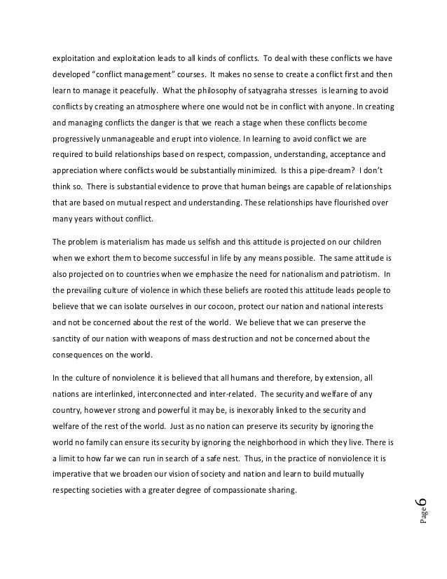 """Page6exploitation and exploitation leads to all kinds of conflicts. To deal with these conflicts we havedeveloped """"conflic..."""