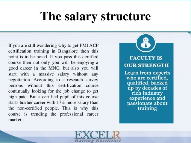 Why is pmi acp certification training best in bangalore