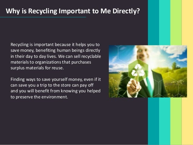 Why Is Recycling So Important Environmental Sciences Essay Research  Why Is Recycling So Important Environmental Sciences Essay