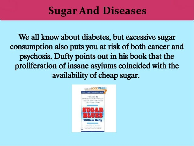 is sugar bad for you Having diabetes doesn't mean you have to cut sugar out of your diet completely  we all enjoy eating  in the future too much sugar is bad for your teeth too.