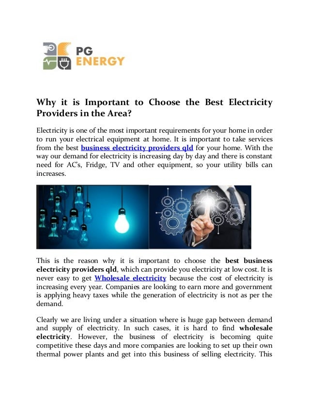 how to choose the best electricity plan
