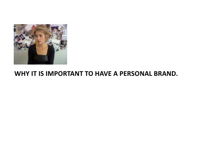 4 reasons to consider building your personal brand.<br />