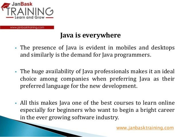 Learn Java the Easy Way - PDF eBook Free Download