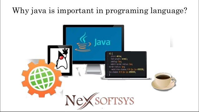 Why java is important in programing language?