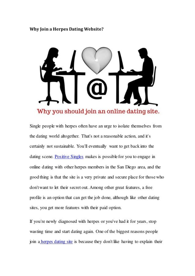 Why join dating site