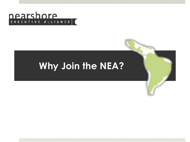Why Join the NEA?