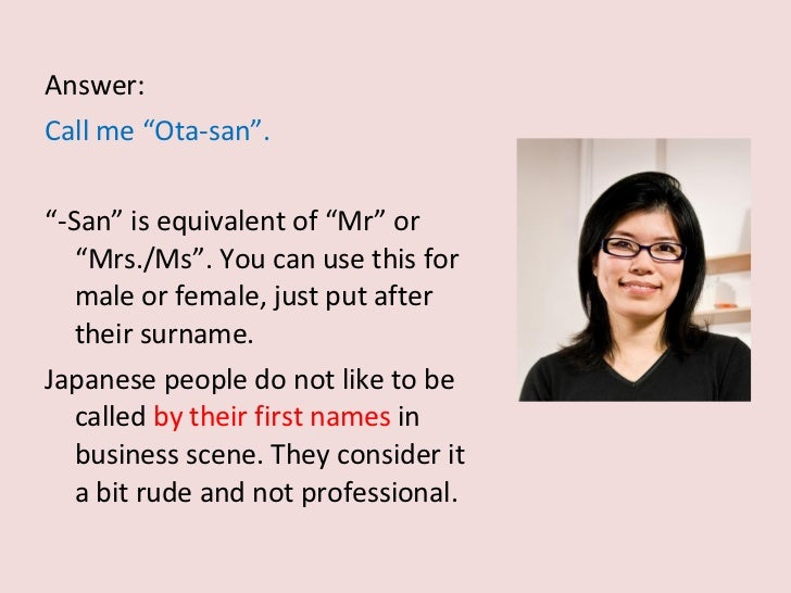 Mr And Mrs Rude Questions: Doing Business In Japan?