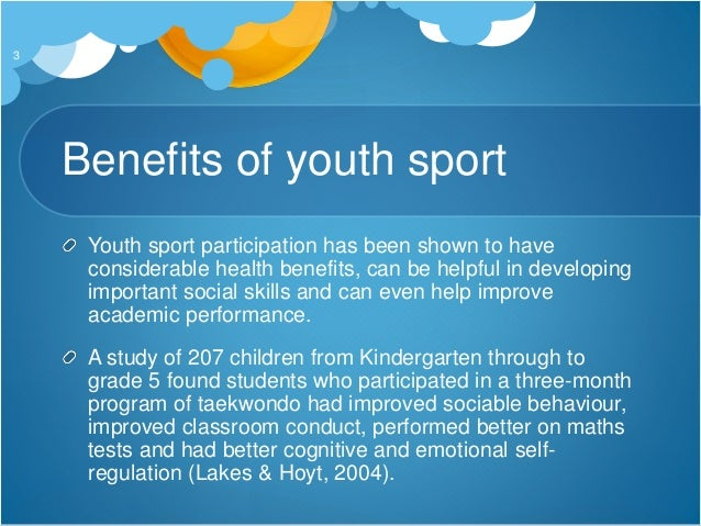importance and benefits of sports For a long time, sports have been viewed as a way to stay healthy and in shape, but their importance goes much further as a matter of fact, playing sports teaches life lessons like discipline, responsibility, self-confidence, accountability, and teamwork.