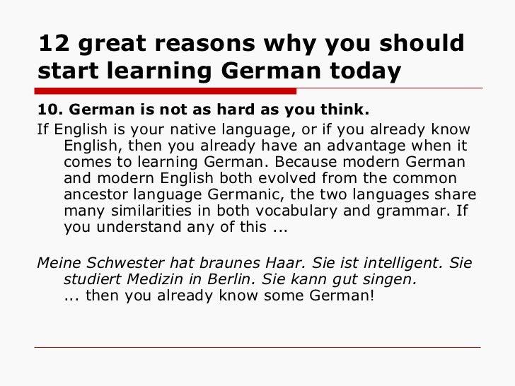 Is it True that German is Hard to Learn? - Fluent in 3 ...