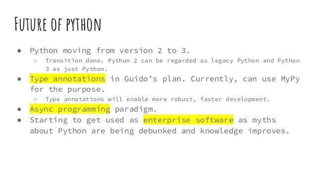 Why learn python in 2017?