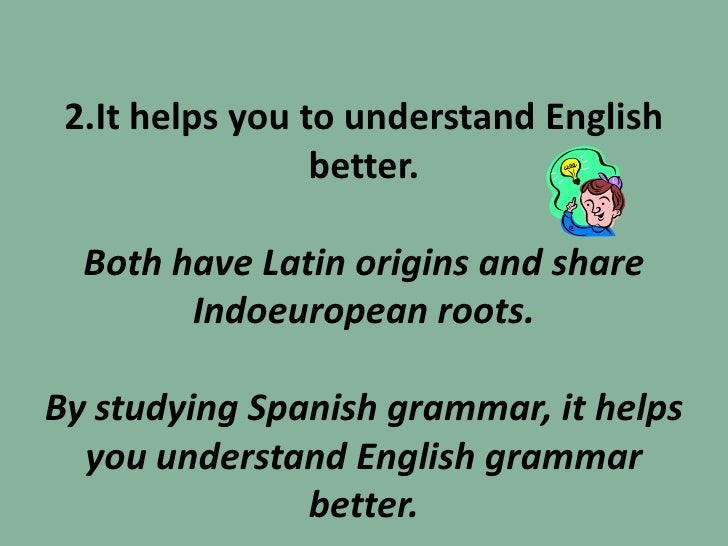 why learn spanish ppt