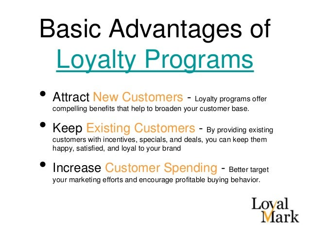 efeectiveness of loyalty programs in big Apart from the big programs which offer a community connection or the option to give points to someone else, generally it's not a big feature of loyalty programs.