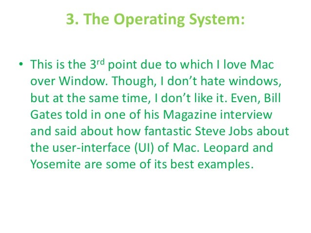 best operating system Operating system the operating system provides utilities to optimize your system, monitor its operation and manage your files.