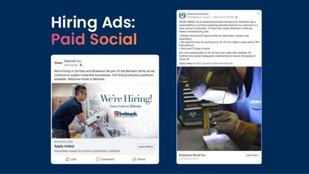 Hiring Ads: