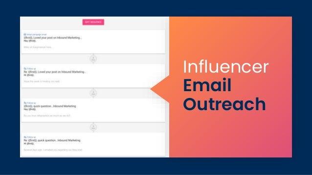 Influencer Email Outreach