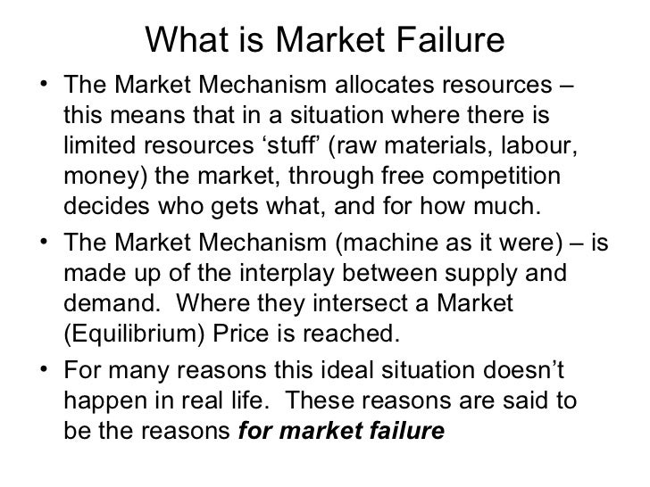 how markets fail What john cassidy teaches us in his fluent and lucid narrative of how markets fail is that there is no silver bullet, no single coherent set of ideas that can fix the global economy ideology is.