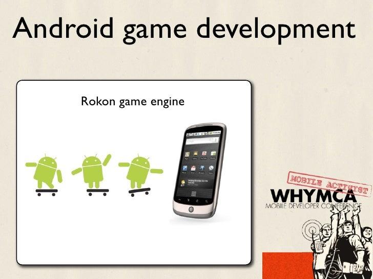 Android game development    Rokon game engine