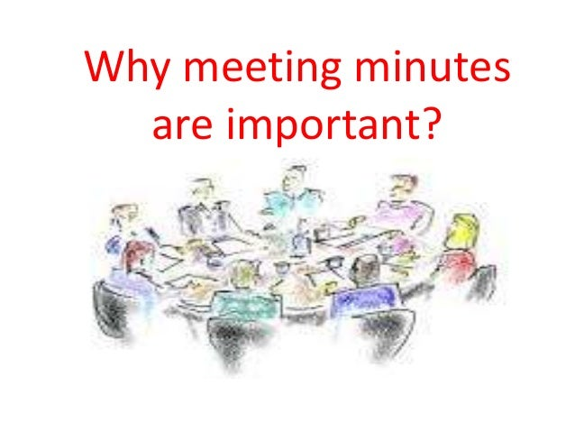 how to write minutes of meeting ppt