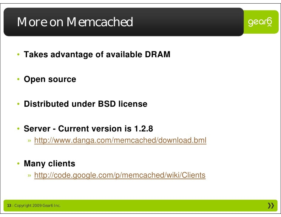 memcached - a distributed memory object caching system