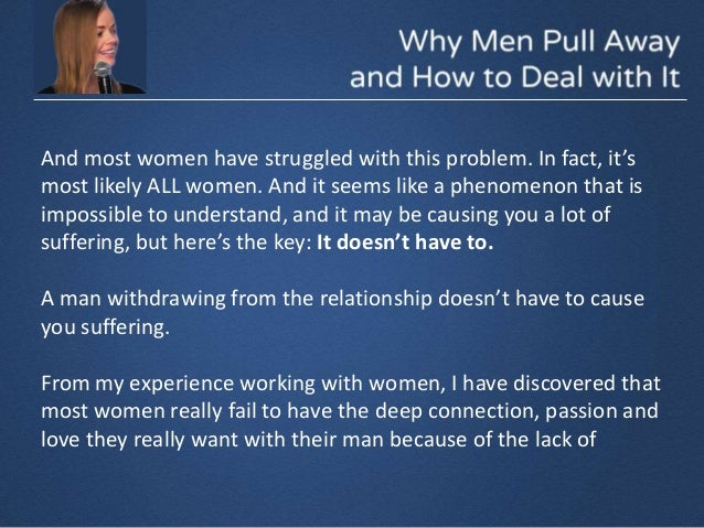 Pull why away men women from 10 Reasons