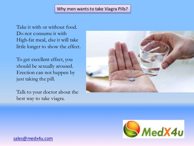 Viagra best way take