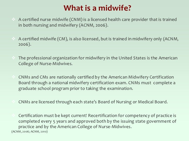 Why Midwifery Childbirth Choices