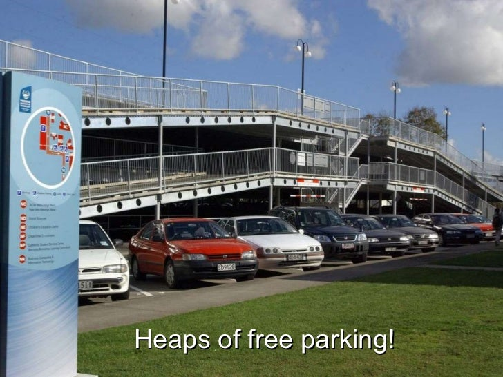 Heaps of free parking!