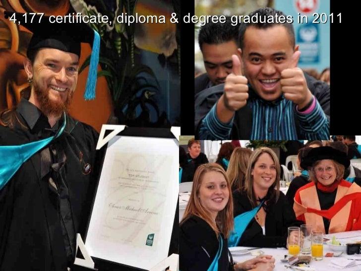 <ul><li>4,177 certificate, diploma & degree graduates in 2011 </li></ul>
