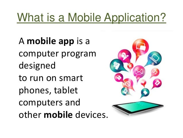 Importance of mobile applications for business Slide 2