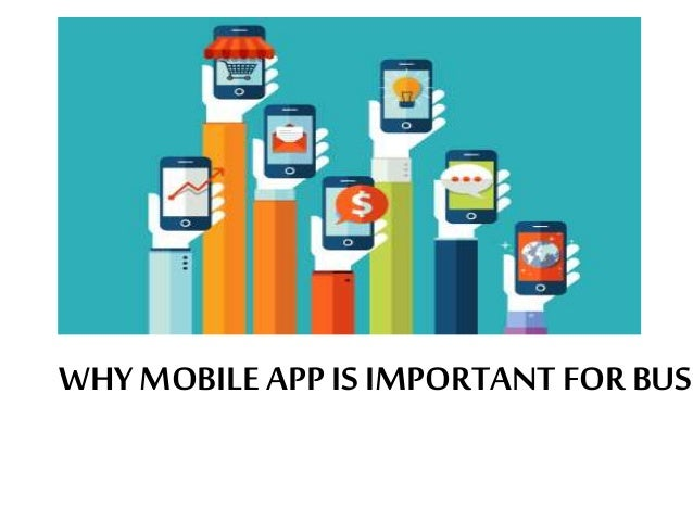 Importance of mobile applications for business Slide 3