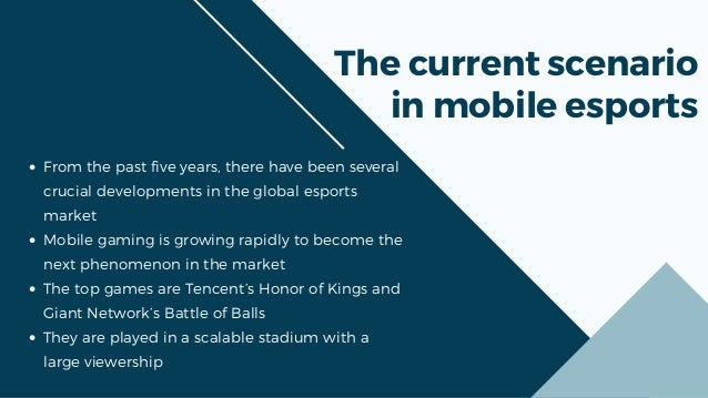 Why mobile gaming is the future of mobile esports  Slide 2